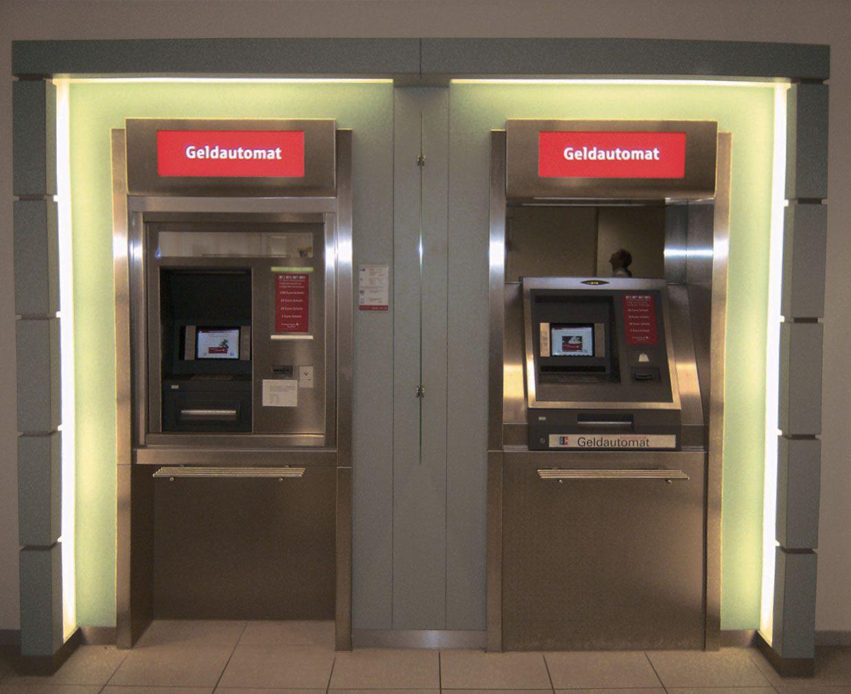 Automaten-Unterfahrt