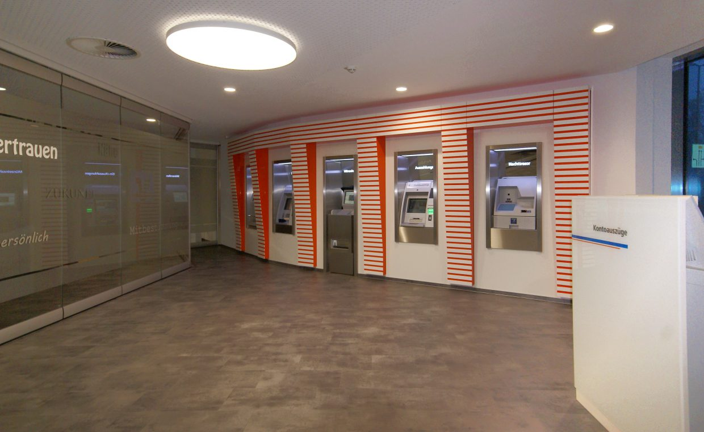 Umbau der Hauptstelle in Varel